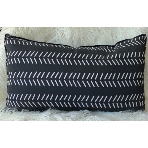 Farmhouse Modern Black lumbar